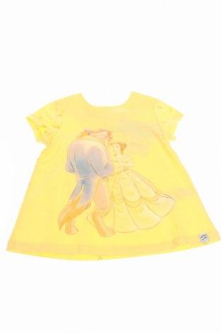 Tricou de copii Disney, Mărime 3-4y/ 104-110 cm, Culoare Galben, 50% bumbac, 50% modal, Preț 95,56 Lei
