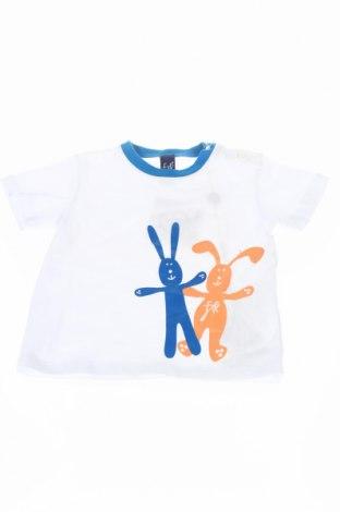 Detské tričko FEFE, Veľkosť 9-12m/ 74-80 cm, Farba Biela, 96% bavlna, 4% elastan, Cena  15,52€