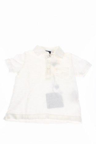 Детска тениска Jimmy B., Размер 6-9m/ 68-74 см, Цвят Бял, Памук, Цена 24,15лв.