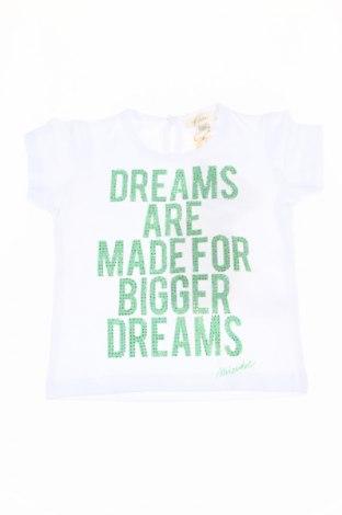 Detské tričko Microbe, Veľkosť 9-12m/ 74-80 cm, Farba Biela, 90% bavlna, 10% elastan, Cena  8,35€
