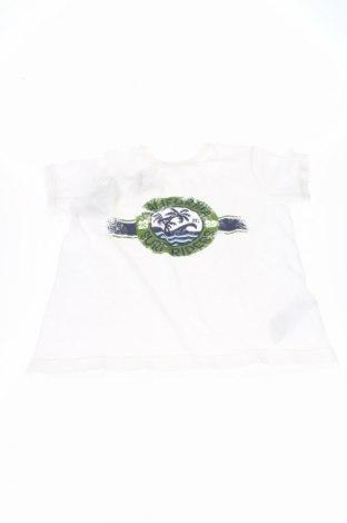 Tricou de copii Monnalisa Bebe', Mărime 9-10y/ 140-146 cm, Culoare Alb, Bumbac, Preț 67,41 Lei