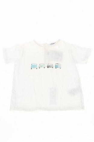 Tricou de copii Simonetta, Mărime 12-18m/ 80-86 cm, Culoare Alb, 90% bumbac, 10% elastan, Preț 46,67 Lei