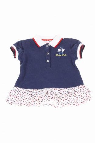 Detská tunika  La Martina, Veľkosť 3-6m/ 62-68 cm, Farba Modrá, 98% bavlna, 2% elastan, Cena  16,86€