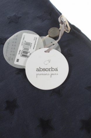 Детски гащеризон Absorba, Размер 6-9m/ 68-74 см, Цвят Син, 66% памук, 34% полиестер, Цена 37,92лв.