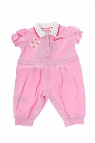 Salopetă pentru copii. La Martina, Mărime 2-3m/ 56-62 cm, Culoare Roz, 97% bumbac, 3% elastan, Preț 162,96 Lei