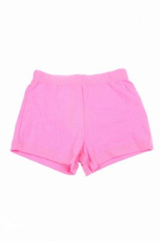 Παιδικό κοντό παντελόνι, Μέγεθος 3-6m/ 62-68 εκ., Χρώμα Ρόζ , 95% βαμβάκι, 5% ελαστάνη, Τιμή 1,03€