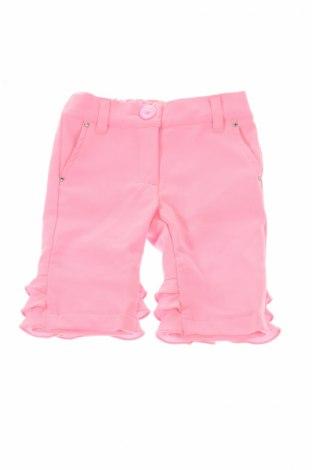 Детски къс панталон Blumarine Baby, Размер 3-6m/ 62-68 см, Цвят Розов, 88% полиестер, 12% еластан, Цена 47,60лв.