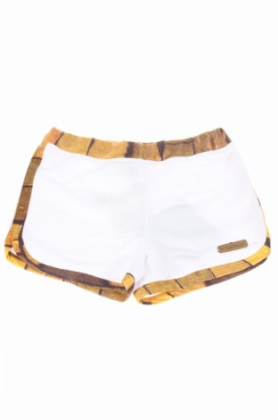 Pantaloni scurți de copii Le Farfalle, Mărime 6-7y/ 122-128 cm, Culoare Alb, 60% poliester, 40% poliuretan, Preț 58,77 Lei