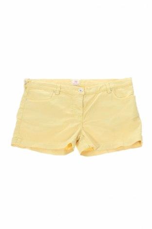 Detské krátke nohavice  Mauro Grifoni, Veľkosť 15-18y/ 170-176 cm, Farba Žltá, 60% bavlna, 37% lyocell, 3% elastan, Cena  15,70€