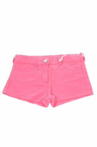 Pantaloni scurți de copii Monnalisa, Mărime 9-10y/ 140-146 cm, Culoare Roz, 98% bumbac, 2% elastan, Preț 102,22 Lei