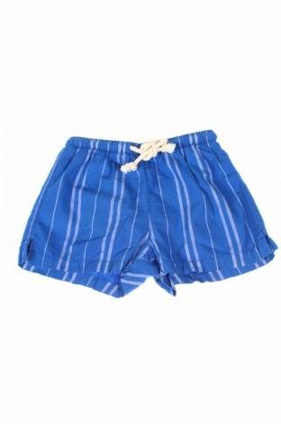 Pantaloni scurți de copii Mosaique, Mărime 3-4y/ 104-110 cm, Culoare Albastru, Poliester, Preț 57,78 Lei
