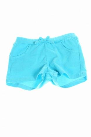 Детски къс панталон Moschino, Размер 3-6m/ 62-68 см, Цвят Син, 90% памук, 10% еластан, Цена 55,60лв.