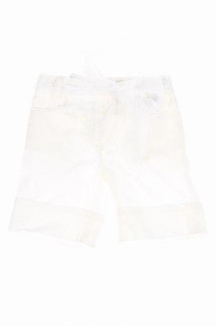 Pantaloni scurți pentru copii U+É, Mărime 1-2m/ 50-56 cm, Culoare Alb, Bumbac, Preț 31,48 Lei