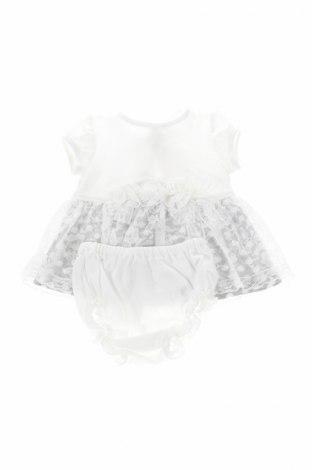 Детски комплект Aletta, Размер 0-1m/ 50 см, Цвят Бял, Памук, Цена 32,25лв.