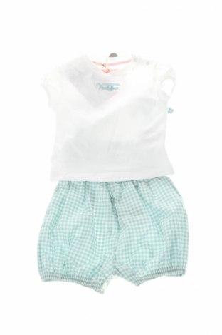 Детски комплект La Martina, Размер 2-3m/ 56-62 см, Цвят Бял, Памук, еластан, Цена 23,04лв.