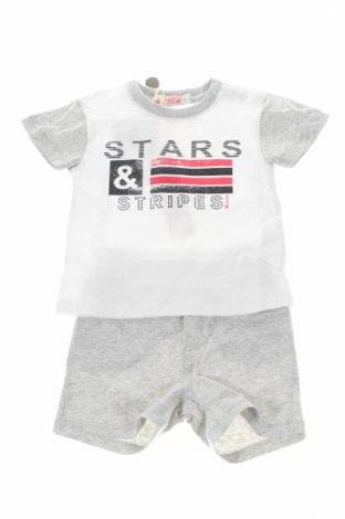 Детски комплект Mirtillo, Размер 6-9m/ 68-74 см, Цвят Сив, 95% памук, 5% еластан, Цена 23,40лв.