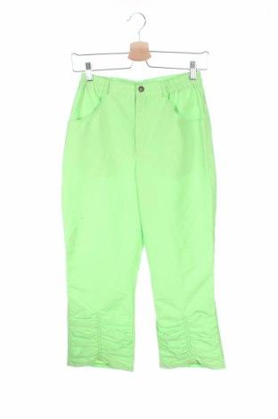Детски панталон, Размер 15-18y/ 170-176 см, Цвят Зелен, Полиестер, Цена 3,00лв.