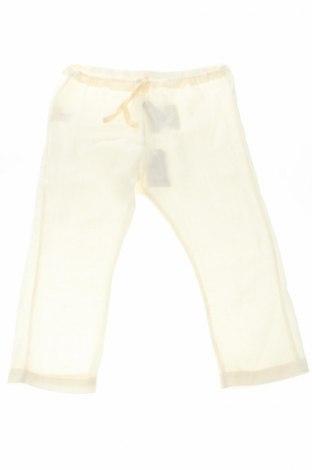 Pantaloni de copii Amelia, Mărime 2-3y/ 98-104 cm, Culoare Ecru, 55% viscoză, 45% in, Preț 45,93 Lei