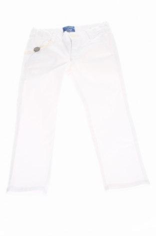 Pantaloni de copii Fay, Mărime 18-24m/ 86-98 cm, Culoare Alb, 97% bumbac, 3% elastan, Preț 82,72 Lei