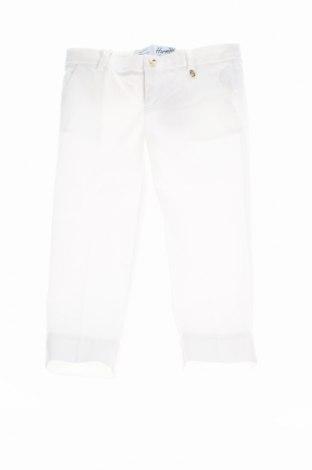 Детски панталон Harmont & Blaine, Размер 18-24m/ 86-98 см, Цвят Бял, 97% памук, 3% еластан, Цена 23,70лв.