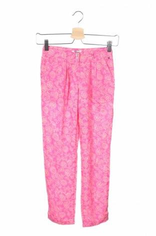 Pantaloni de copii Hilfiger Denim, Mărime 7-8y/ 128-134 cm, Culoare Roz, 100% modal, Preț 88,15 Lei