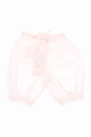 Pantaloni de copii Lili Gaufrette, Mărime 9-12m/ 74-80 cm, Culoare Roz, Bumbac, Preț 77,78 Lei
