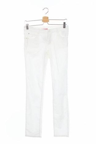 Pantaloni de copii Liu Jo, Mărime 13-14y/ 164-168 cm, Culoare Alb, 98% bumbac, 2% elastan, Preț 127,41 Lei