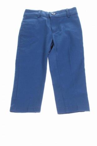Детски панталон Manuell & Frank, Размер 12-18m/ 80-86 см, Цвят Син, 97% памук, 3% еластан, Цена 20,24лв.