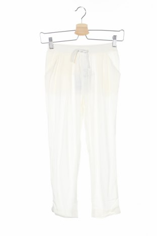 Pantaloni de copii Pinko Up, Mărime 8-9y/ 134-140 cm, Culoare Alb, Poliester, Preț 77,23 Lei