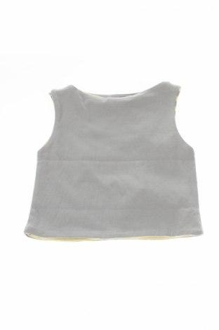 Detské tielko  Amelia, Veľkosť 6-9m/ 68-74 cm, Farba Sivá, 98% bavlna, 2% elastan, Cena  7,42€