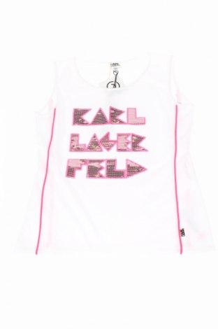 Μπλουζάκι αμάνικο παιδικό Karl Lagerfeld