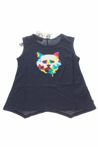 Детски потник Karl Lagerfeld, Размер 7-8y/ 128-134 см, Цвят Син, 50% памук, 50% модал, Цена 47,60лв.