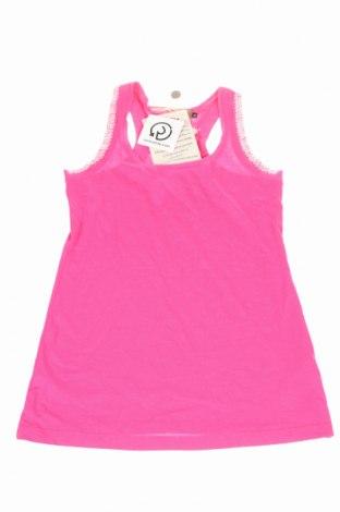 Детски потник Manila Grace Denim, Размер 11-12y/ 152-158 см, Цвят Розов, 50% памук, 50% модал, Цена 27,65лв.