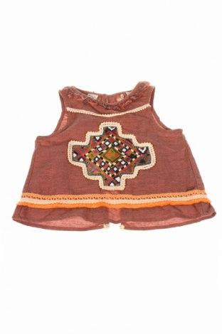 Detské tielko  Scotch R'belle, Veľkosť 3-4y/ 104-110 cm, Farba Hnedá, 100% bavlna, Cena  14,25€