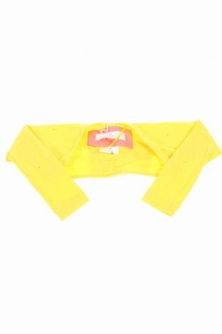 Детско болеро Petit, Размер 3-6m/ 62-68 см, Цвят Жълт, 95% памук, 5% еластан, Цена 8,20лв.