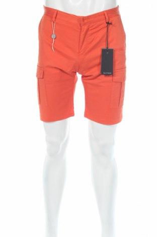 Pánske kraťasy  David Naman, Veľkosť S, Farba Oranžová, 97% bavlna, 3% elastan, Cena  3,32€
