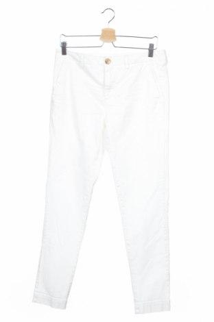 Мъжки панталон Aglini, Размер M, Цвят Бял, 97% памук, 3% еластан, Цена 239,25лв.