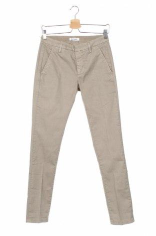 Мъжки панталон Dondup, Размер S, Цвят Бежов, 72% памук, 25% полиестер, 3% еластан, Цена 388,50лв.