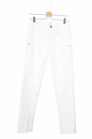 Мъжки панталон Fradi, Размер S, Цвят Бял, 96% памук, 4% еластан, Цена 23,85лв.
