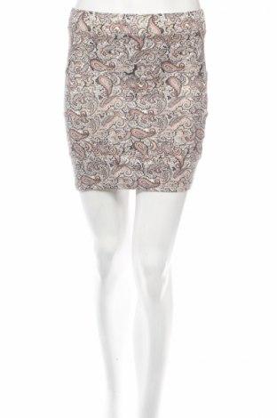 Φούστα Bershka, Μέγεθος S, Χρώμα Πολύχρωμο, 95% βαμβάκι, 5% ελαστάνη, Τιμή 3,67€
