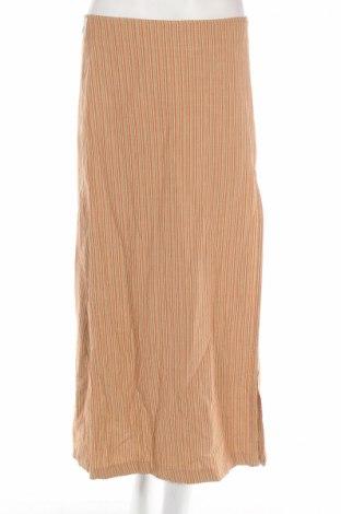 Φούστα Cerruti, Μέγεθος M, Χρώμα Πορτοκαλί, 64% βαμβάκι, 36% λινό, Τιμή 18,13€