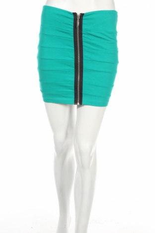 Пола Fishbone, Размер S, Цвят Зелен, 95% памук, 5% еластан, Цена 5,04лв.