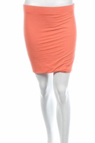 Φούστα Laura T., Μέγεθος XS, Χρώμα Πορτοκαλί, 95% πολυεστέρας, 5% ελαστάνη, Τιμή 3,27€