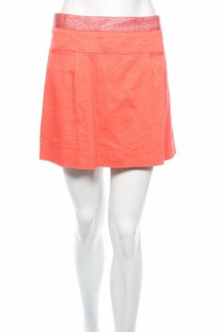 Φούστα Naf Naf, Μέγεθος M, Χρώμα Ρόζ , 97% βαμβάκι, 3% ελαστάνη, Τιμή 9,39€