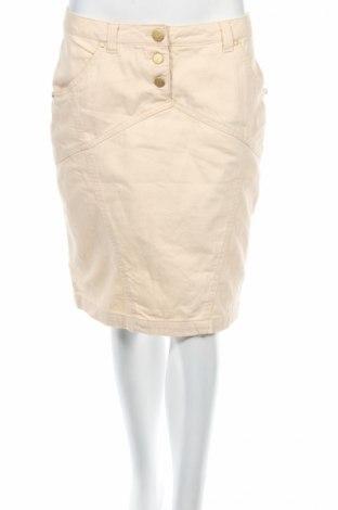 Пола Oltre, Размер M, Цвят Бежов, 98% памук, 2% еластан, Цена 7,80лв.