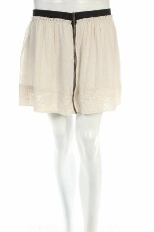 Пола Zara Trafaluc, Размер M, Цвят Бежов, Цена 8,80лв.