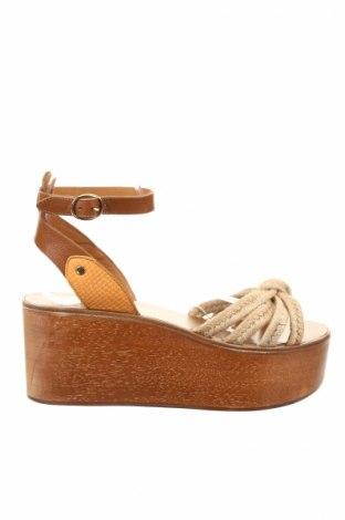 Sandály  Isabel Marant Etoile, Veľkosť 40, Farba Béžová, Textil, pravá koža , Cena  108,07€