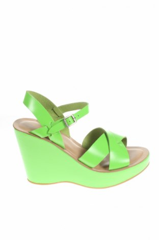 Sandały Kork-Ease, Rozmiar 40, Kolor Zielony, Skóra naturalna, Cena 220,07zł