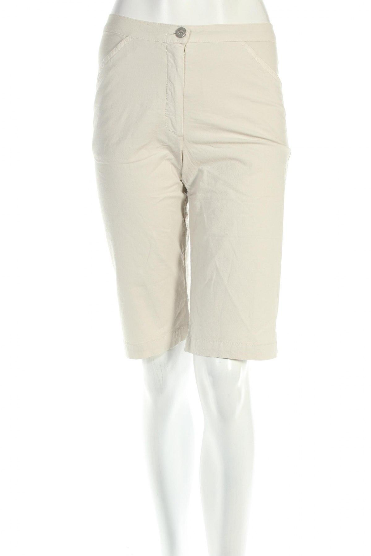 Γυναικείο κοντό παντελόνι PLOUMANAC'H, Μέγεθος S, Χρώμα Λευκό, 97% βαμβάκι, 3% ελαστάνη, Τιμή 13,71€