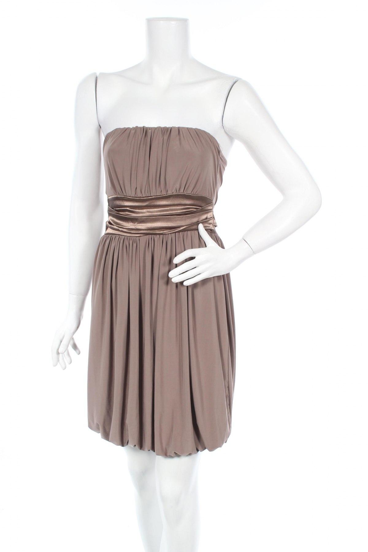 Φόρεμα Madonna, Μέγεθος S, Χρώμα Καφέ, 95% πολυεστέρας, 5% ελαστάνη, Τιμή 4,46€